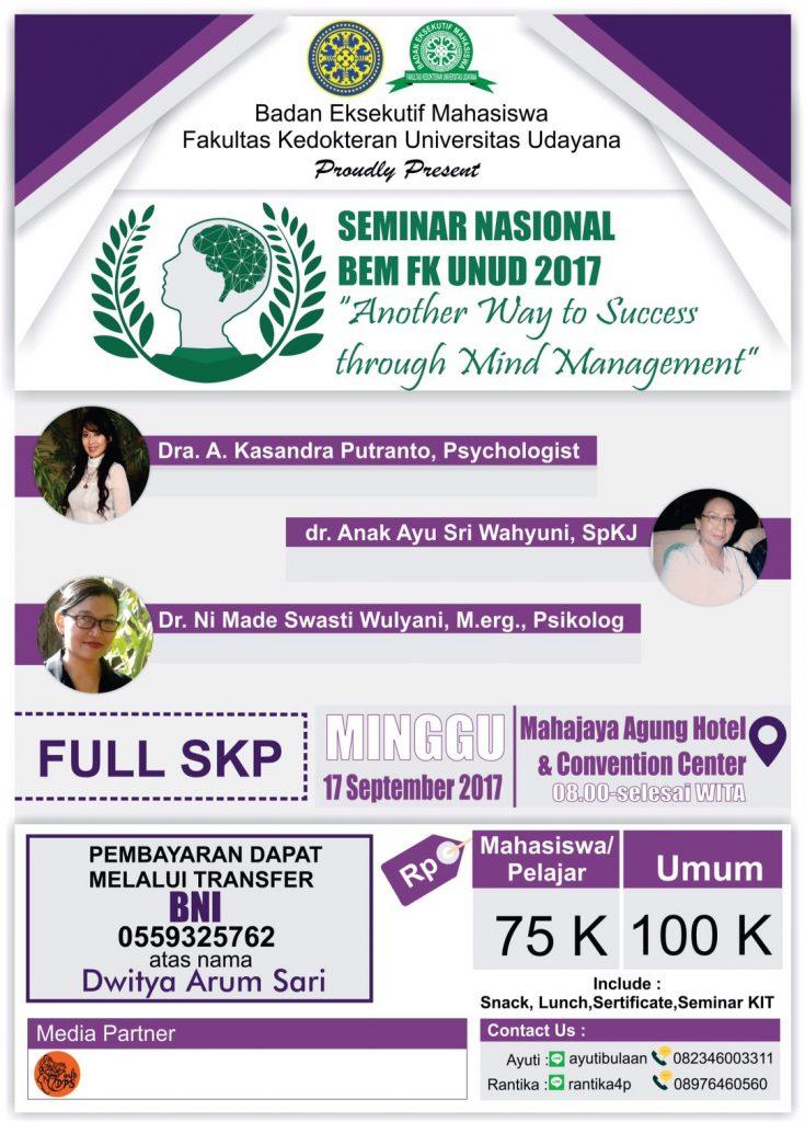Seminar Nasional BEM FK Unud 2017