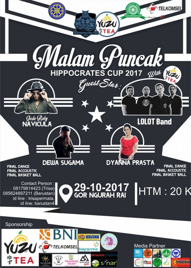 MALAM PUNCAK  HIPPOCRATES CUP XXIX