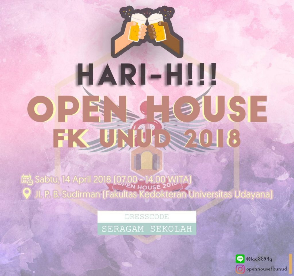 HARI H OPEN HOUSE FK UNUD 2018