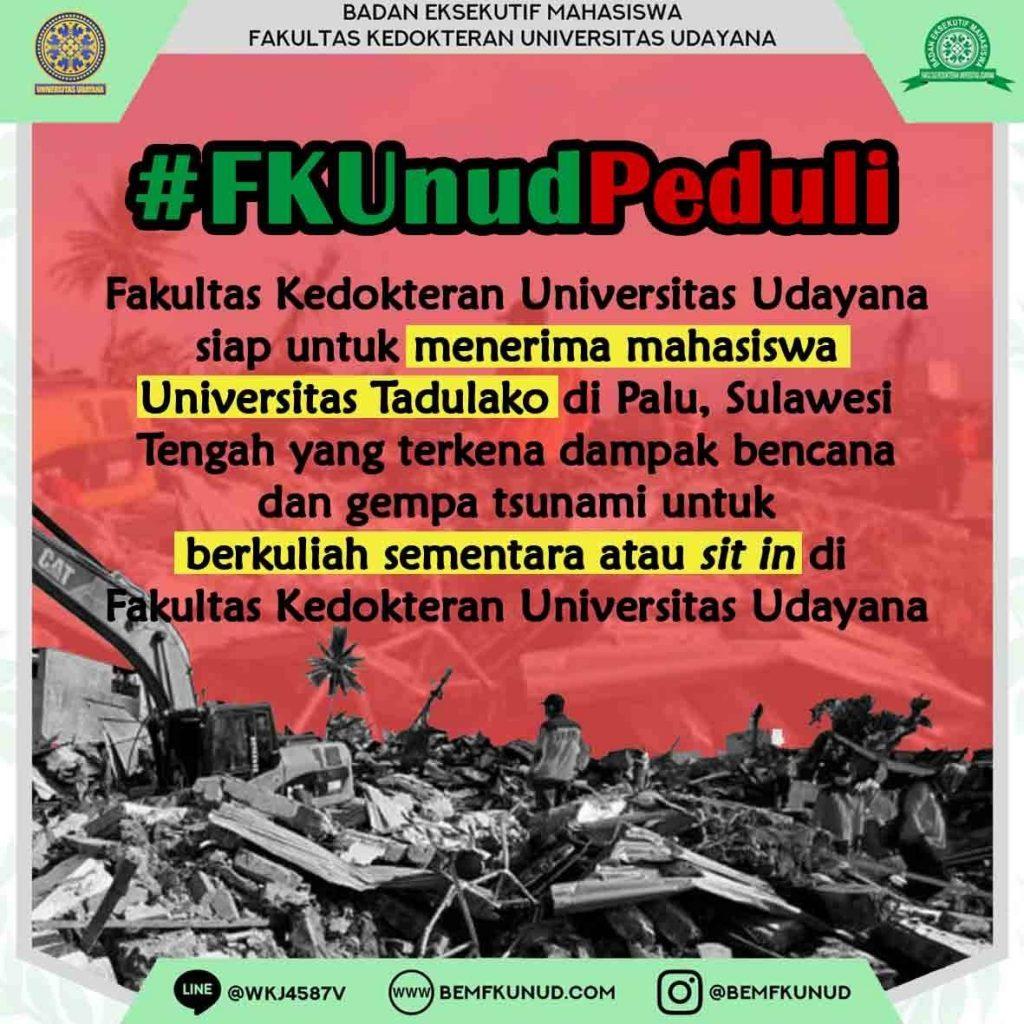 FK UNUD PEDULI