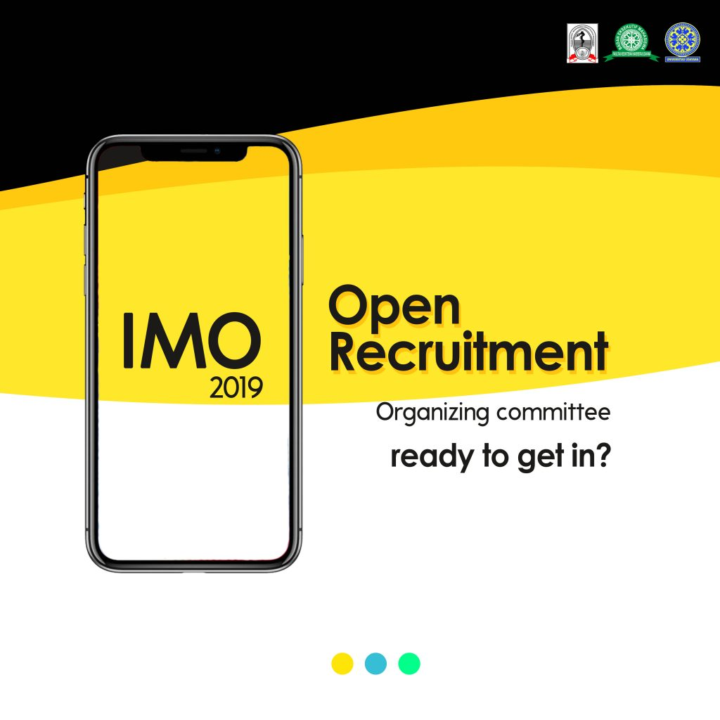 OPEN RECRUITMENT PANITIA IMO 2019