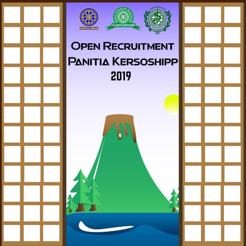 OPEN RECRUITMENT PANITIA KERSOSHIPP XVIII