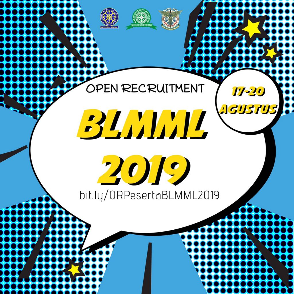 PENDAFTARAN BLMML 2019 UNTUK MAHASISWA LAMA