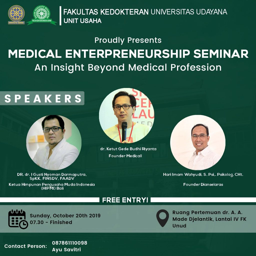 MEDICAL ENTREPRENEURSHIP SEMINAR