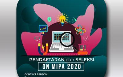 Olimpiade Nasional MIPA FK UNUD 2020