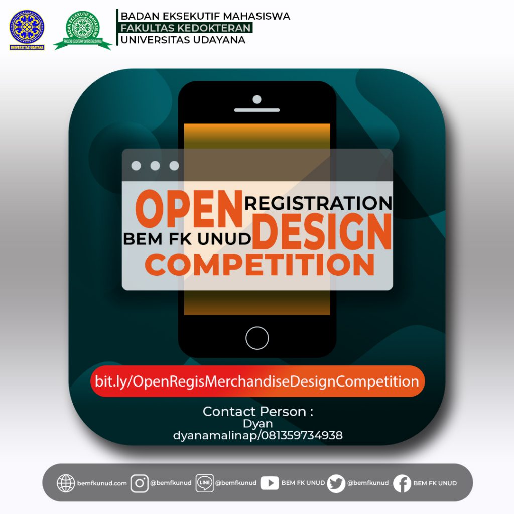 Open Registration BEM FK UNUD Merchandise Design Competition