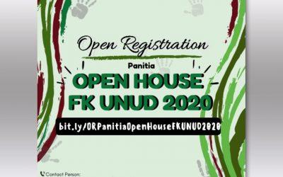 [Tutup] Open Recruitment Panitia Open House 2020