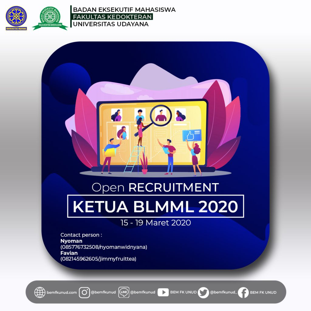 Open Recruitment Ketua BLMML 2020
