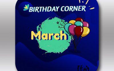 Birthday Corner Maret 2020
