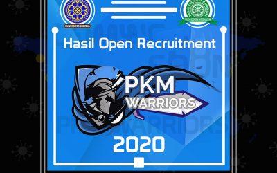 Hasil Open Recruitment Panitia PKM Warriors 2020