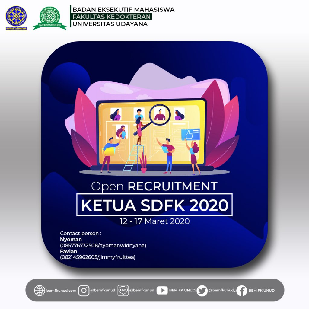 Open Recruitment Ketua SDFK 2020