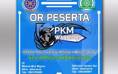 Open Recruitment Peserta PKM Warriors 2020