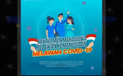 Recruitment Mahasiswa Relawan Kemanusiaan Melawan COVID-19
