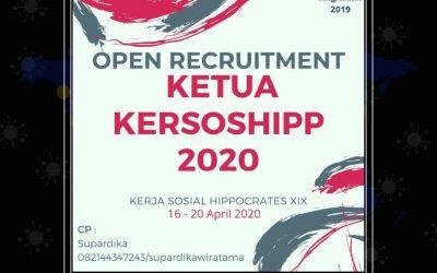 [Tutup] Open Recruitment Ketua Kersoshipp XIX Batch 2