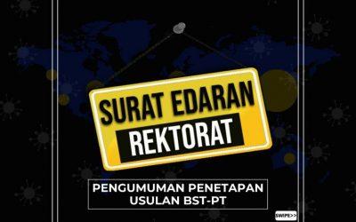 Penetapan Usulan BST-PT