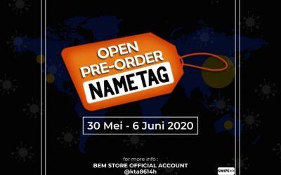 Pre-Order NameTag