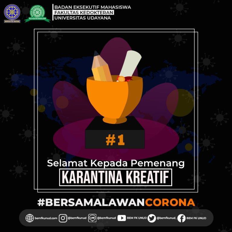 Pemenang Karantina Kreatif Week 2