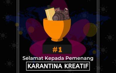 Pemenang Karantina Kreatif Week 3