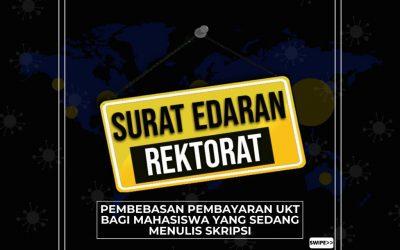 Pembebasan UKT Untuk Mahasiswa Skripsi