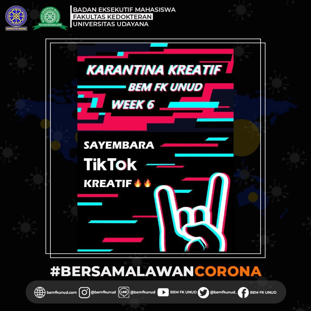Karantina Kreatif BEM FK Unud Week 6