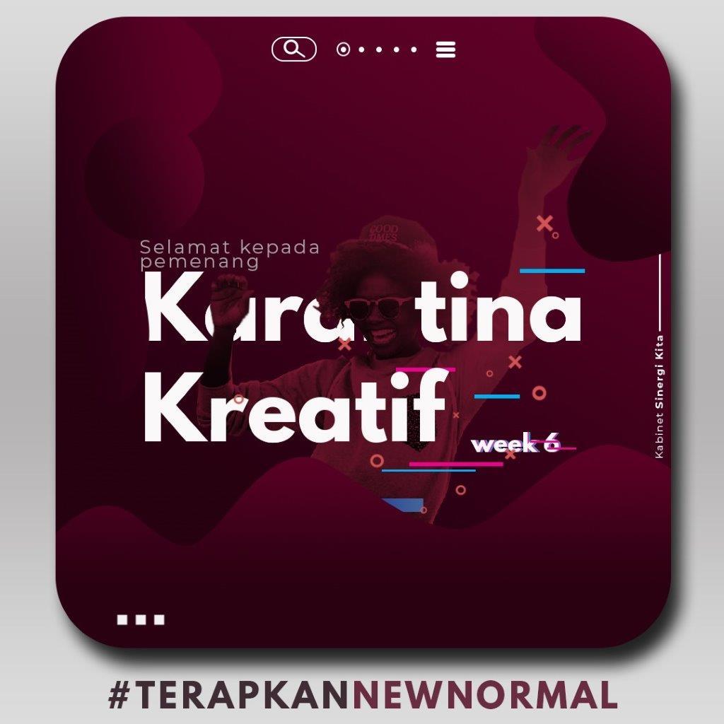 Pemenang Karantina Kreatif Week 6