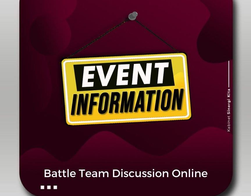 Battle Team Discussion Online