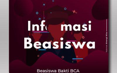 Beasiswa Bank BCA 2020/2021