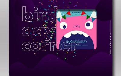 Birthday Corner Agustus 2020