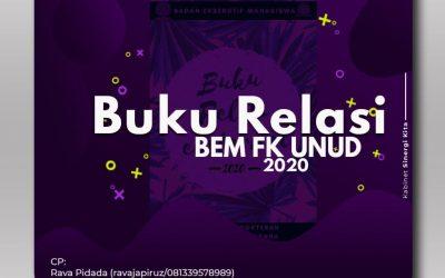 Publishing Buku Relasi BEM FK UNUD