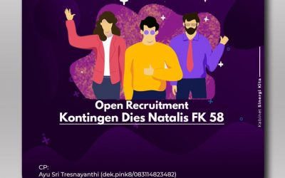 Open Recruitment Kontingen FK Dies Natalis 58