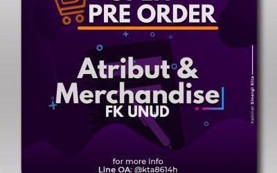 Pre-Order Atribut & Merchendise FK UNUD