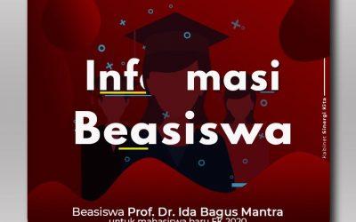 Beasiswa Prof. Dr. Ida Bagus Mantra