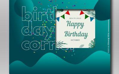 Birthday Corner Oktober 2020