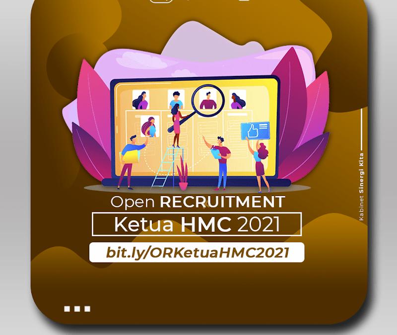 [CLOSED] Open Recruitment Ketua HMC 2020