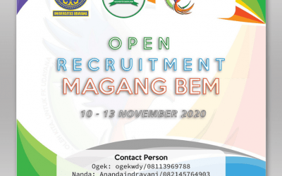 [CLOSED] Open Recruitment Magang BEM FK 2020