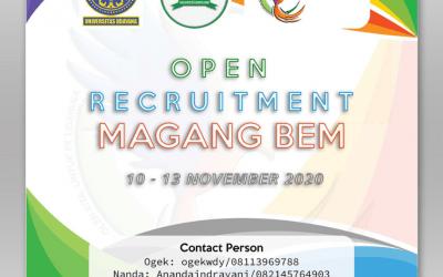 [CLOSED] Open Recruitment Magang BEM FK 2020