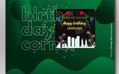 Birthday Corner Januari 2021
