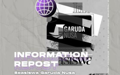 Info Beasiswa Garuda Nusa 2021