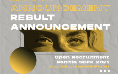 Pengumuman Hasil Open Recruitment Panitia SDFK 2021