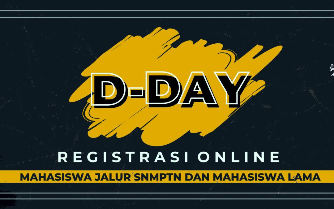D-DAY REGISTRASI ONLINE SDFK 2021 MABA SNMPTN DAN MALA