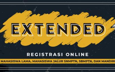 Extended Registrasi Online SDFK 2021