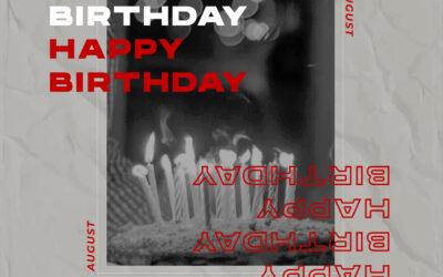 Birthday Corner Agustus 2021